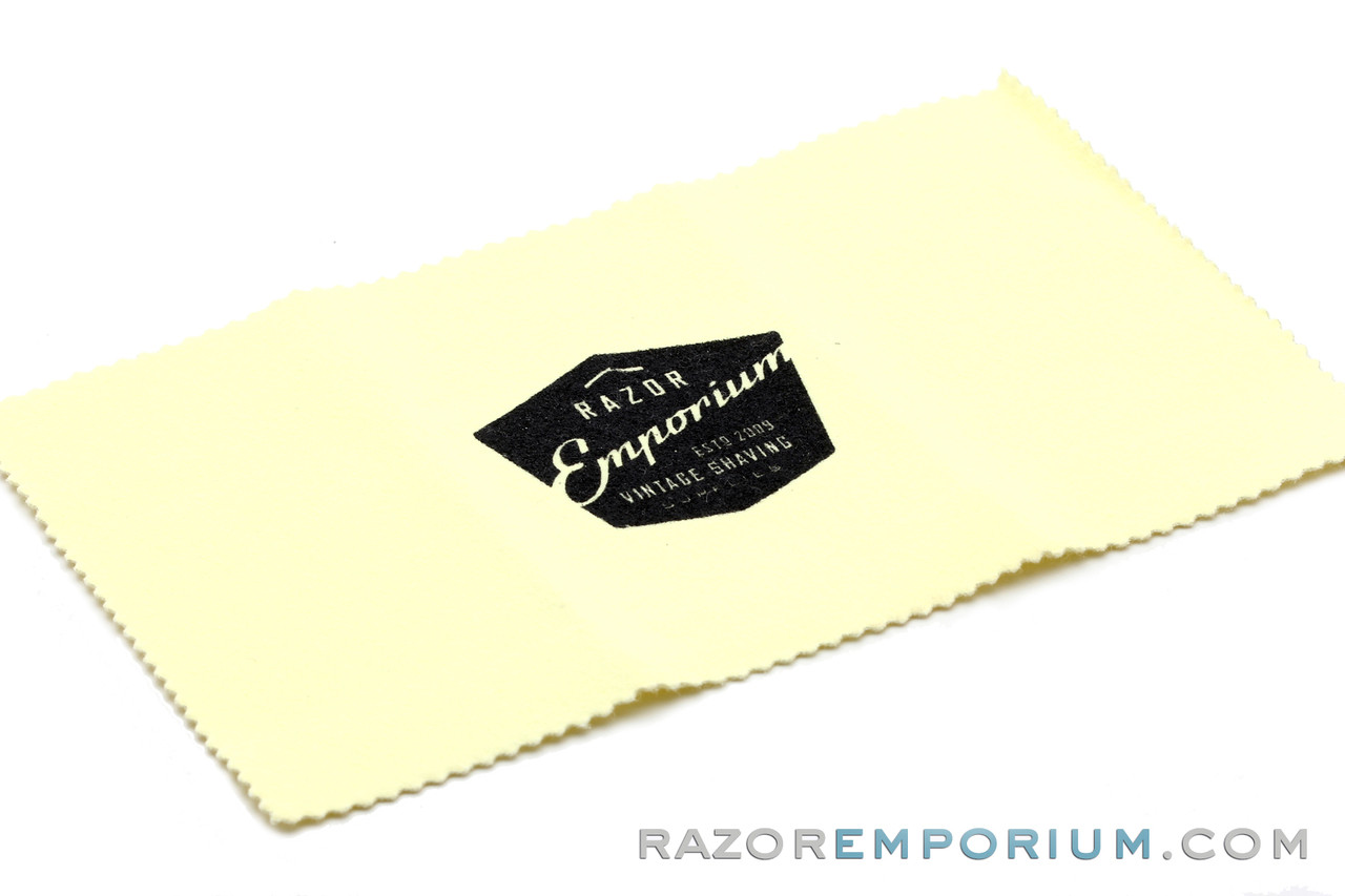 Free polishing cloth with purchase!