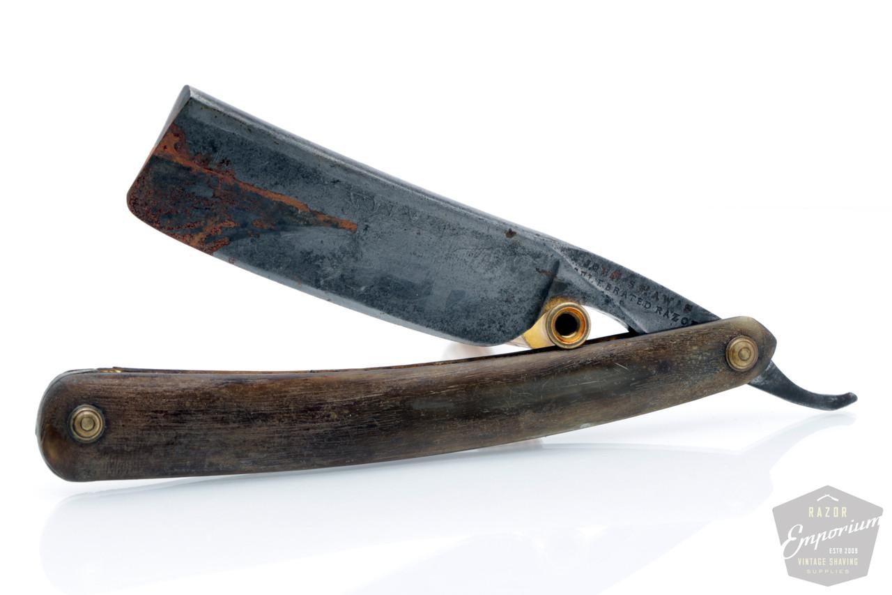 Razor Emporium Straight Razor Restoration: Duble Duck