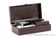 1930's Gem Micromatic Razor Single Edge in Bakelite Case