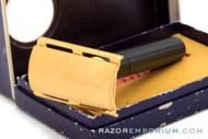 1947-51 Gillette WWII Contract Tech Ball End DE Razor Set with Case