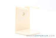 Acrylic Shaving Brush Stand Ivory