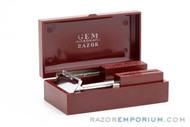 "1930's GEM Micromatic ""Clog Proof"" Razor Single Edge TTO in Case"