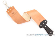 "Ezra Arthur 2.5"" Horsehide & Canvas Strop 