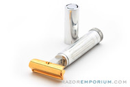 1920's Schick Type A Gold Repeating Injector Razor