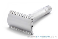 1930s Gillette NEW Long Comb DE Razor  - Nickel Revamp