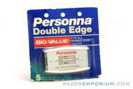 Personna DE Super Platinum Chrome  (5) - New Old Stock (NOS) Razor Blades