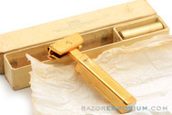 1927-32 Schick Type B Single Edge Repeating Gold Injector Razor Set
