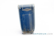 1960's Gillette Blue Snap Case Made in England