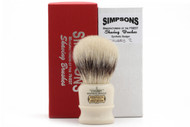 Simpsons Synthetic Chubby 2 Shaving Brush