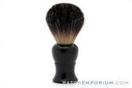 Razor Emporium Black Badger Brush with Black Acrylic Handle