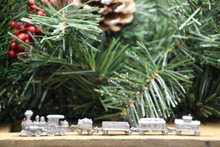 Christmas Express Pewter Minature