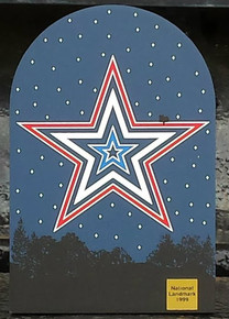 Mill Mountain Star in Red, White, and Blue by Cat's Meow