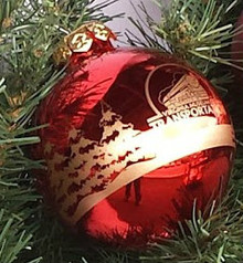 VMT Logo Holiday Ornament Shiny Finish