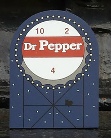 Dr. Pepper Sign by Cat's Meow