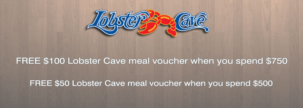Lobster cave voucher
