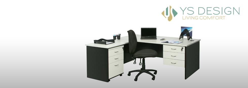 Desk package with chairs