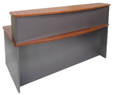 Rapid Manager Bow Front Reception Desk 1800w