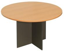 Rapid Worker Round Meeting Table 900mm Diameter