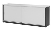 Oxley White & Ironstone Credenza 1800mm Wide