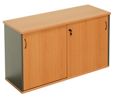 Rapid Worker Sliding Door Credenza 1500mm Wide