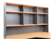 Rapid Worker Desk Hutch 1500mm wide