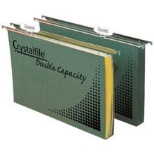 Crystalfile Double Capacity Suspension Files - Pkt/10