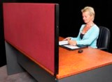 SK Desk Partitions 450mm high x1735mm wide x 30mm deep