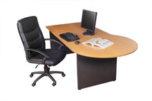 OXLEY P-END DESK 2100 Wide x 1050 Deep x 730mm High
