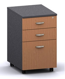 Accent 2 Drawer And File Mobile Pedestal 406 Wide X 510 Deep X 670Mm High