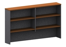 Accent Hutch 1800 Wide X 1075 High X 300Mm Deep Ironstone & Cherrywood