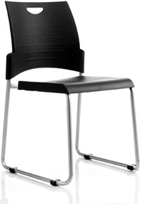 Pronto Visitor Chair - Skid Base   ** Minimum Order - 8 Chairs