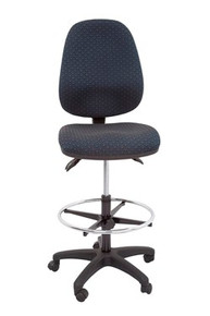 Rapidline Drafting Chair EC070CH Fully Ergonomic High Back