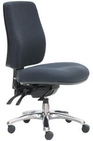 ErgoSelect Spark High Back Chair with Chrome Base