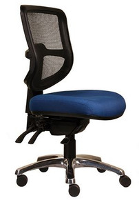 ErgoSelect Swift Mid Back Chair  - Smart Clever fabric