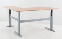 Sit Stand L-Shaped Electric Corner Desk