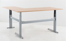 Conset 501-26 Sit Stand L-Shaped Electric Corner Desk