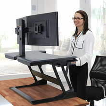 Ergotron Workfit-TL Sit Stand Desktop Workstation