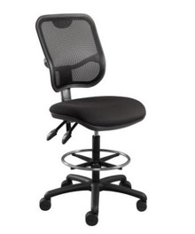 Rapidline EM300 Mesh Back Drafting Chair