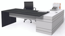 DDK Envoy Executive Desk & Return