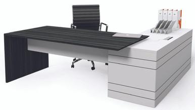 Executive Office Desks Buy The Envoy Executive Desk Return