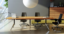 Novara Executive Boardroom Table