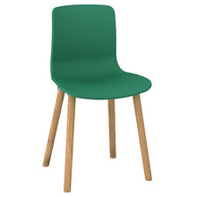 Dal Acti Wooden 4 Leg Chair Teal