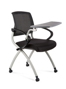 Zoom Mesh Back Training Room Tablet Chair