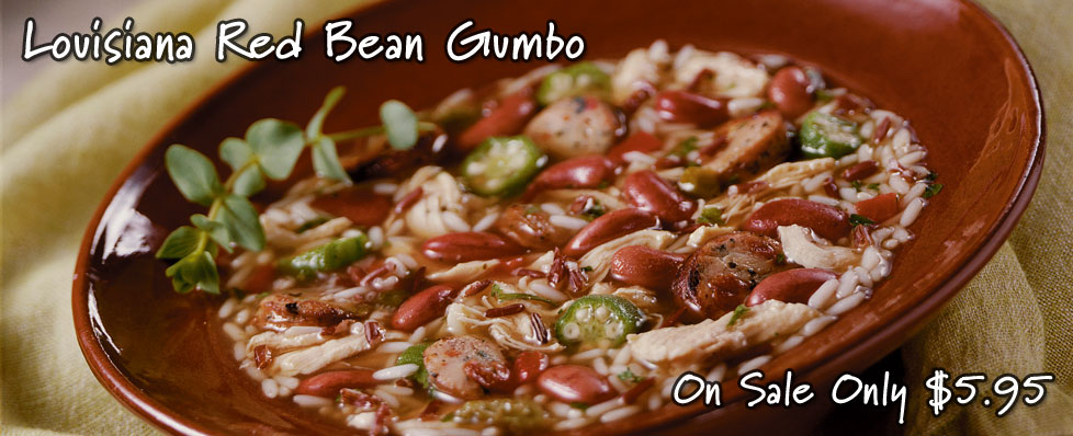 Louisiana Red Bean Gumbo