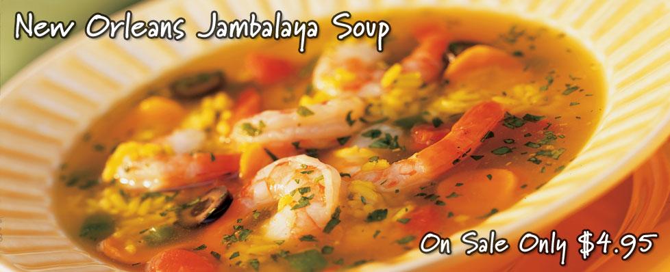 New Orleans Jambalaya Soup