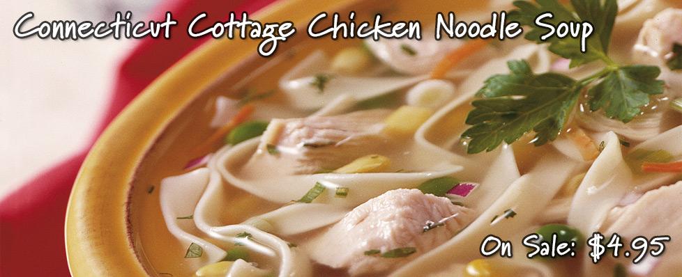 Connecticut Cottage Chicken Noodle Soup