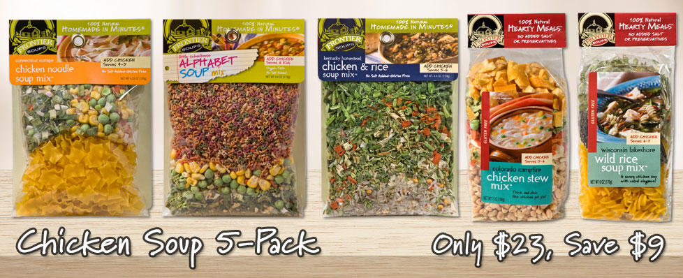 Chicken Soup 5 Pack