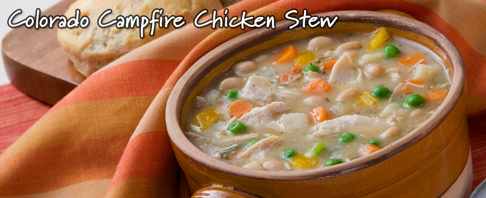 Colorado Campfire Chicken Stew