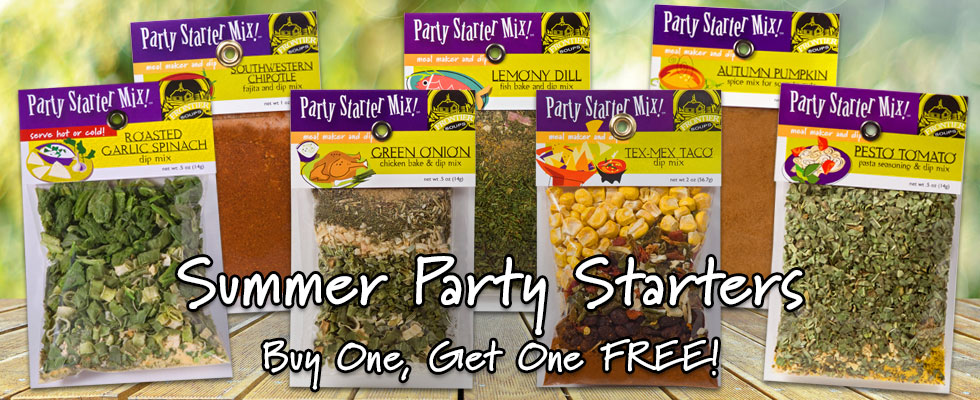 Buy One Get One Free Gourmet Dip Mixes