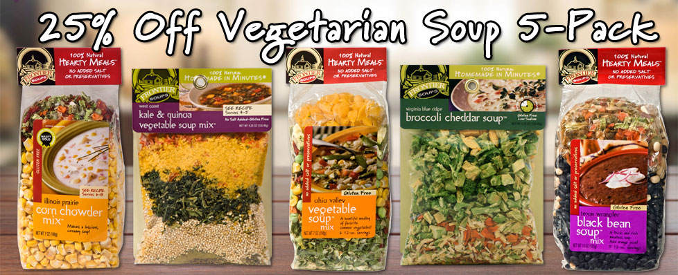 Vegetarian Soup 5-Pack